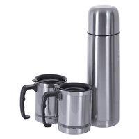 Nessan Flask 1L+2Pcs Mugs 350Ml