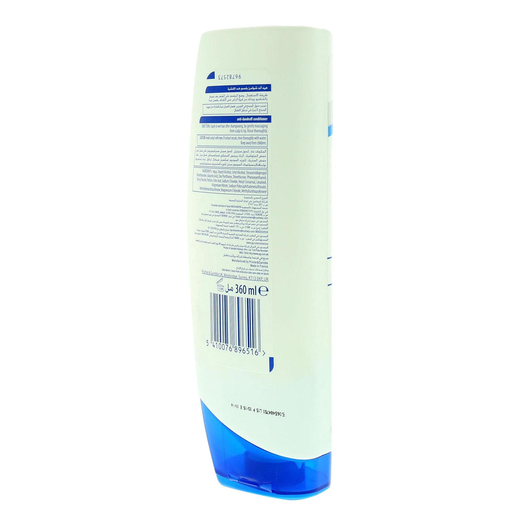H&S COND. CLASSIC CLEAN 360ML