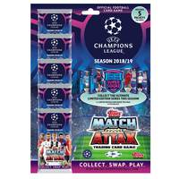 Topps Champions League Match Attax 2018-19 Trading Cards Multi Pack