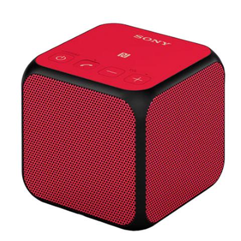 Sony-Bluetooth-Speaker-SRSX11-Red