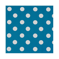 Table Cover Blue With Dots 100 17722