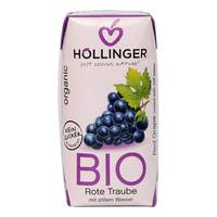 Hollinger Juice Red Grape Organic 200ml