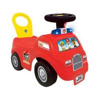 Kiddieland Paw Patrol Light N Sound Fire Ride-On
