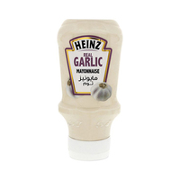 Heinz Mayonnaise Garlic Top Down 400ML