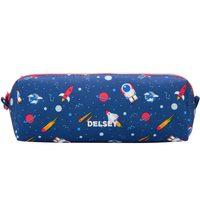 Delsey School 2018 Pencil Case Navy Galaxy