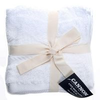 Cannon Face Towel 4pc set White 33X33cm