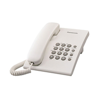 Panasonic Corded Telephone KXTS500 White