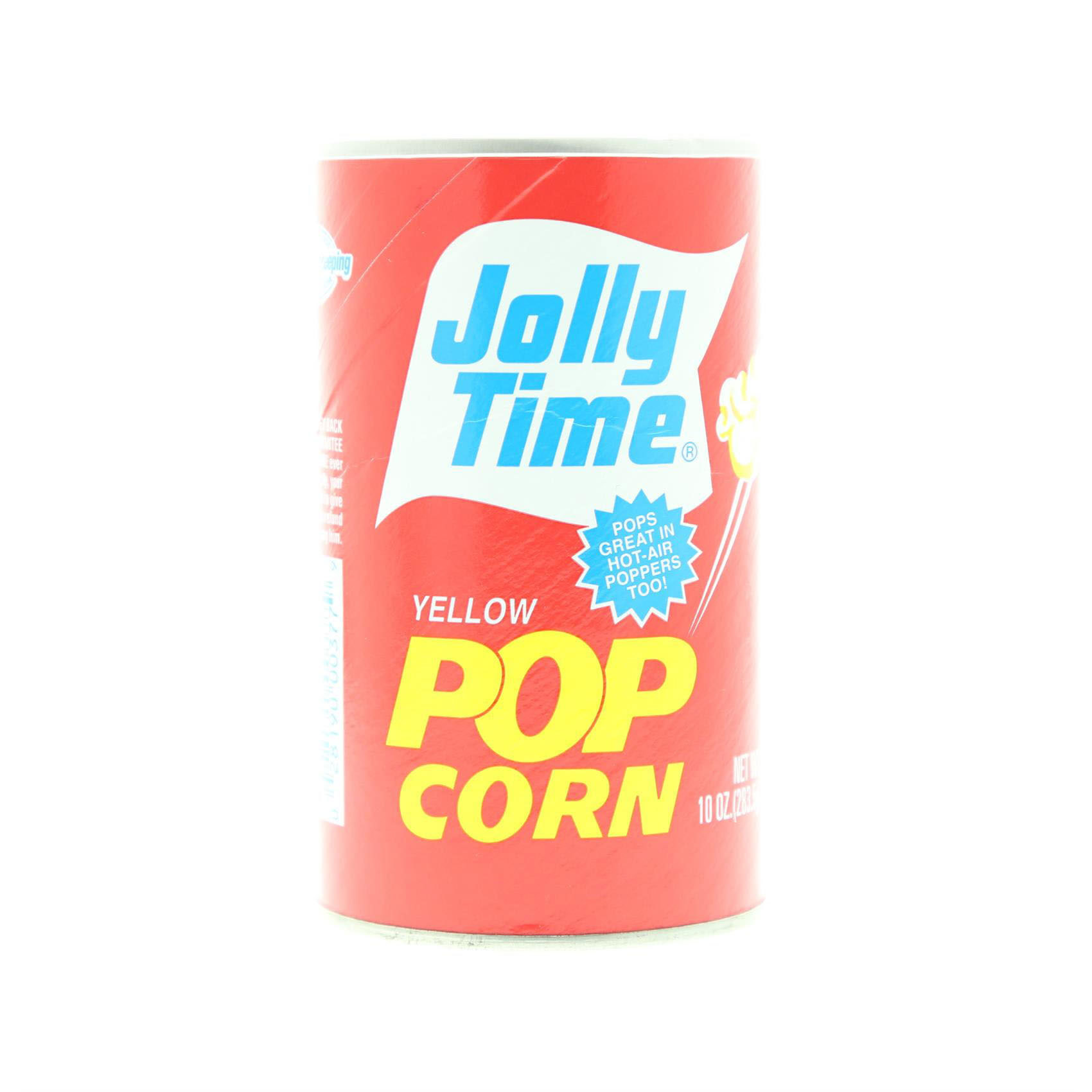 JOLLY TIME YELLOW PULL CANS 284GR