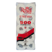 Royal Classic Toilet Rolls 500 Sheets 2 ply x10