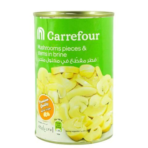 Carrefour-Mushroom-Pieces-&-Stems-in-Brine-425g