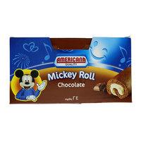 Americana Chocolate Mickey Roll Cake 24 pcs