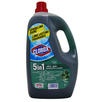 Clorox 5 in 1 Disinfectant Cleaner Pine 3 Liter