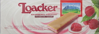 Loacker Raspberry Yoghurt Wafers 37.5gx25