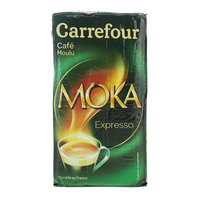 Carrefour Pure Arabica Moka Expresso Ground Coffee 250 g