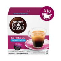 Dolce Gusto Coffee Espresso Decaffeinated 6GR X 16