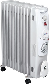 SAMIX Heater Oil Radiator SNK-52 2500 Watt White