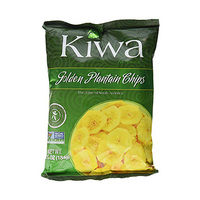 Kiwa Golden Plantain Chips 184GR