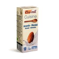 Eco Mil Almond Cream Cooking Preparation Bio 200ML