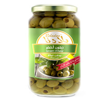 Beladna Pitted Green Olives 640G