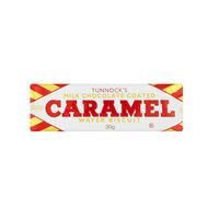 تانوكس كاراميل شوكولاتة بالحليب بسكويت ويفر صغير 30 غرام