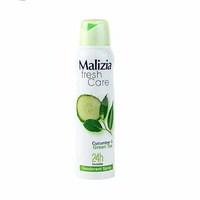Women's Deodorant Malizia Fresh Cucumber& Grean Tea150ML