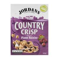 Jordans Country Crisp Flame Raisins 500g