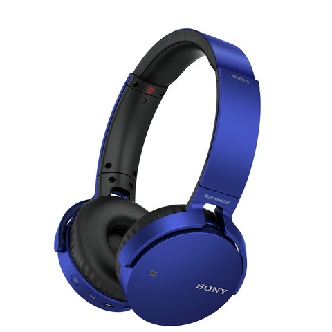 Sony-Headphone-MDRXB650BT-Blue