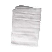 كنزي منشفة يدين قياس 50x100 سم لون أبيض
