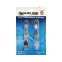 Stainless Steel Hook 6 Pieces