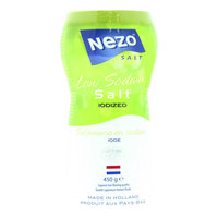 Nezo Iodized Low Sodium Salt 450g
