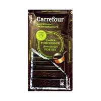 Carrefour Cooking Dark Chocolate 52% Cacao Portions 200GR