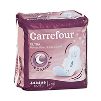 Carrefour Pads Ultra Thin Night 10 Pads