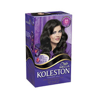 Wella Koleston Color Cream Kit Black 2/0