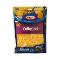 Kraft Finely Shredded Colby Jack Cheeses 198g