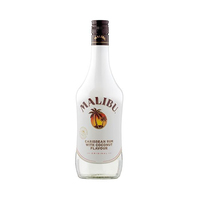 Malibu Coconut Caribbean With Coconut Flavour 18% Alcohol Rum 70CL