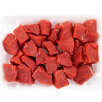 Low-Fat Brazilian Beef Cubes Family Pack 1.2Kg