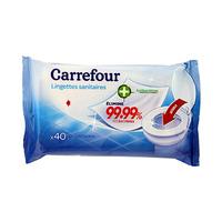 Carrefour Lingettes Sanitaires X40