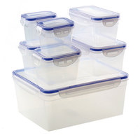 Food Lock Container Set 14Pcs