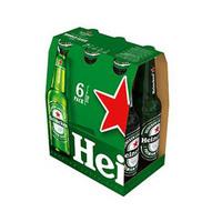 Heineken Beer Bottle 33CL X6