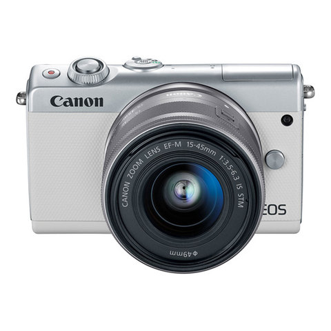CANON SLR EOS M100 EF-M 15-45 IS WH