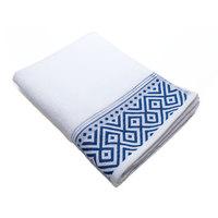Cannon Hand Towel White/Blue 50X100cm
