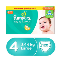 Pampers Diapers Mega Box Size 4