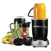 NutriBullet Rx Smoothie Maker 10pc Set, Black, 1700W, N17-1012