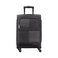 Kamiliant Soft Cayman Spinner Luggage Trolley Bag 81CM Black