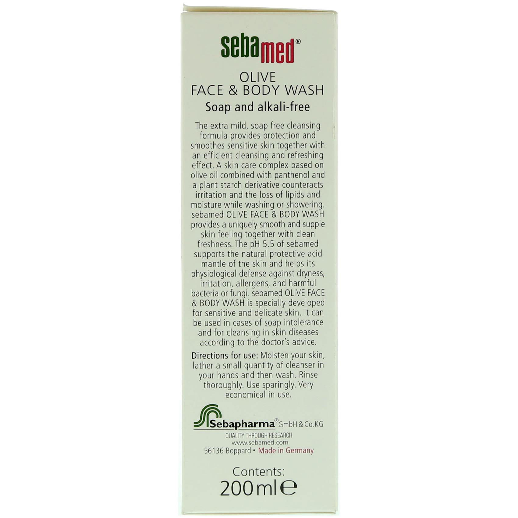 SEBAMED BODY WASH OLIVE  200ML