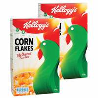 Kellogg's Corn Flakes 375gx2
