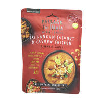 Passage To India Sri Lankan Coconut And Cashew Chicken Simmer Sauce 375g
