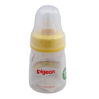 Pigeon Plastic Feeding Bottle 50ml (Transparent Cap)