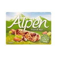 Alpen Cereal Bar Fruit & Nut 28GR X 5