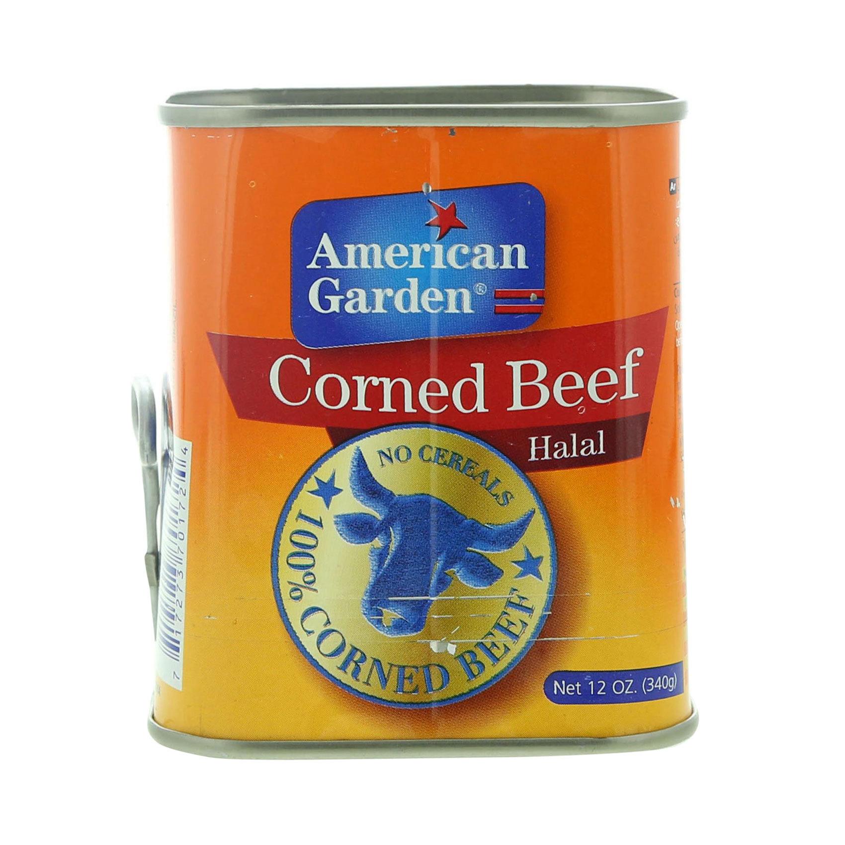 AMERICAN G.CORNED BEEF 340GR
